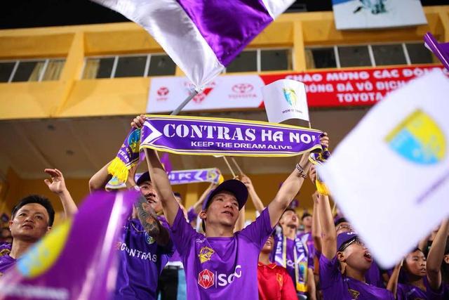 CLB Hà Nội chào đón người hâm mộ trở lại sân Hàng Đẫy với diện mạo hoàn toàn mới - Ảnh 9.