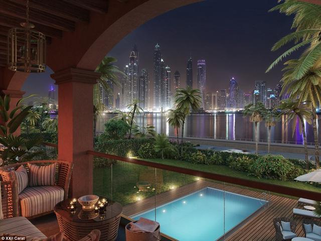 Bồn tắm triệu đô của giới nhà giàu ở Dubai - Ảnh 10.