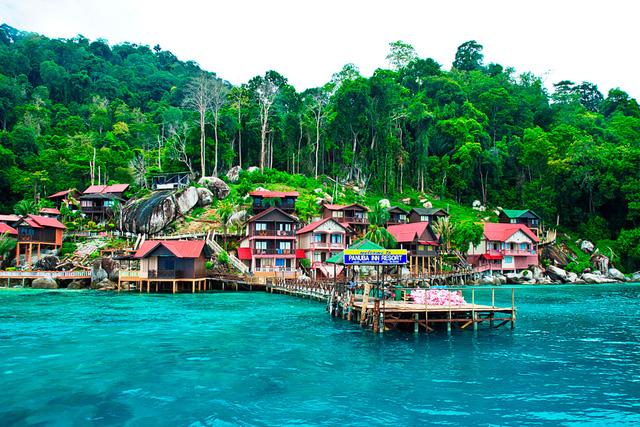Đảo Tioman - Viên ngọc xanh biếc của Malaysia - Ảnh 4.