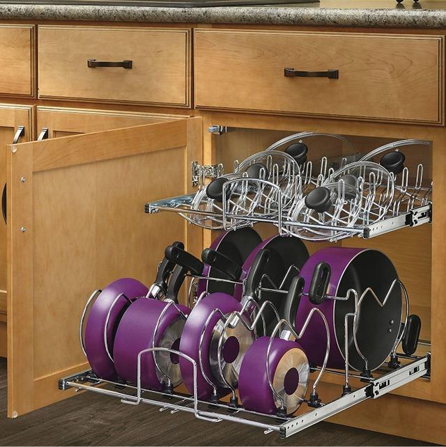 Ý tưởng độc đáo cho gian bếp nhỏ hẹp - Ảnh 1.