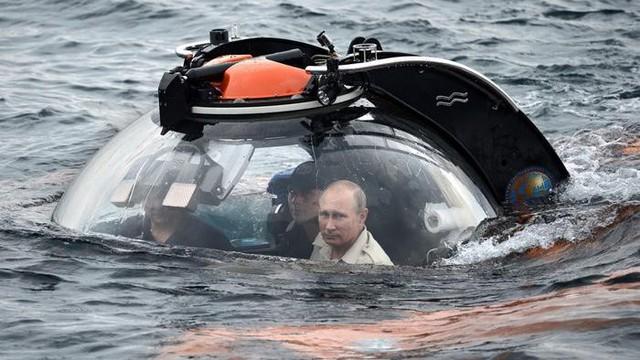 Hình ảnh đời thường của Tổng thống Nga Putin - ảnh 4