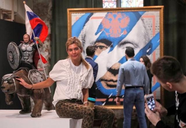 Triển lãm về Tổng thống Putin tại Moscow - ảnh 6