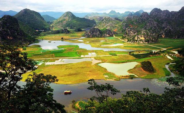 Mùa hè rực rỡ tại công viên sinh thái Puzhehei, Trung Quốc - ảnh 1