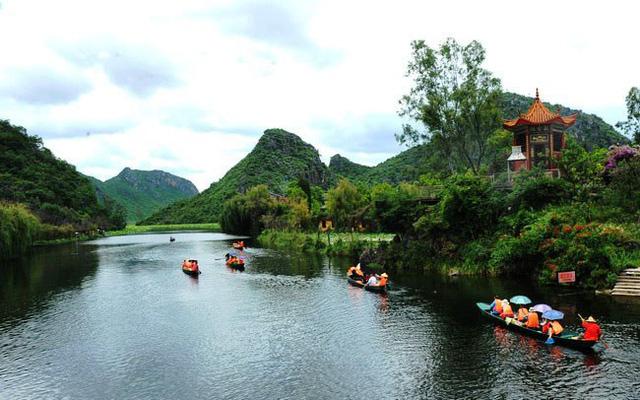 Mùa hè rực rỡ tại công viên sinh thái Puzhehei, Trung Quốc - ảnh 3
