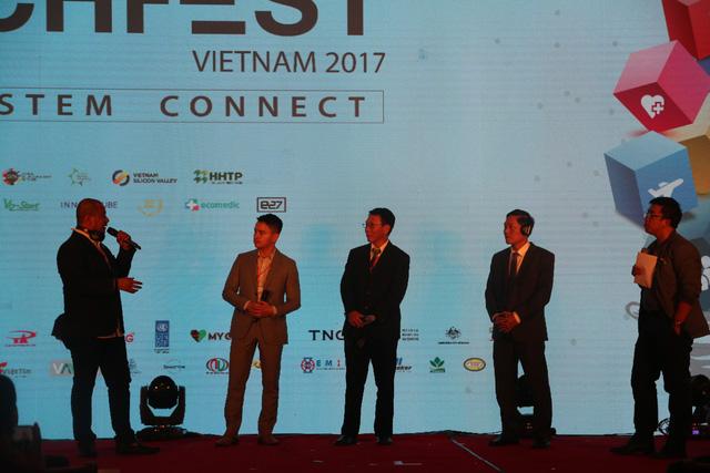 Ra mắt Cổng thông tin Khởi nghiệp ĐMST quốc gia tại Techfest 2017 - Ảnh 3.