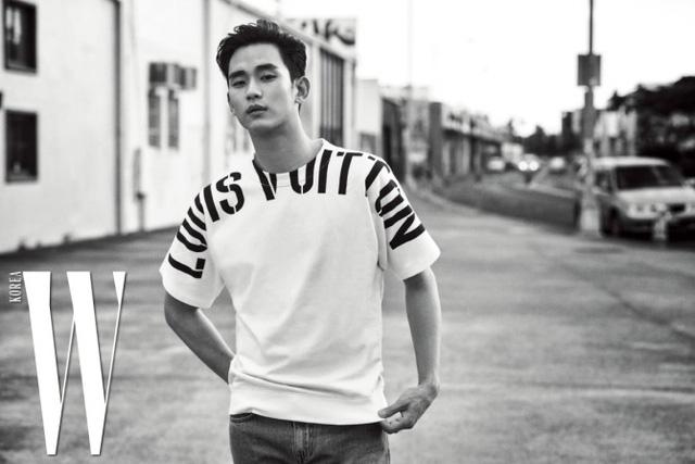 Kim Soo Hyun đầy chất nghệ trong loạt ảnh mới - Ảnh 1.