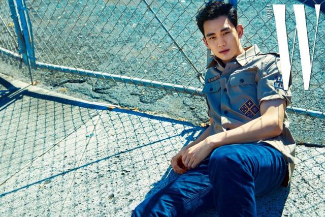 Kim Soo Hyun đầy chất nghệ trong loạt ảnh mới - Ảnh 5.