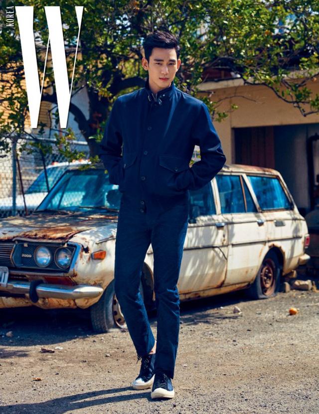 Kim Soo Hyun đầy chất nghệ trong loạt ảnh mới - Ảnh 4.