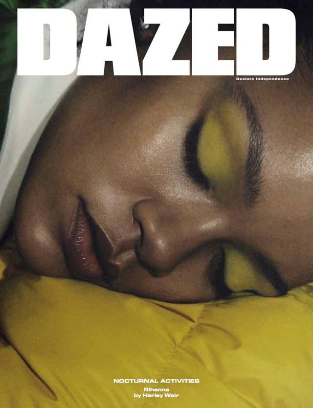 Rihanna u ám trên Dazed - Ảnh 1.