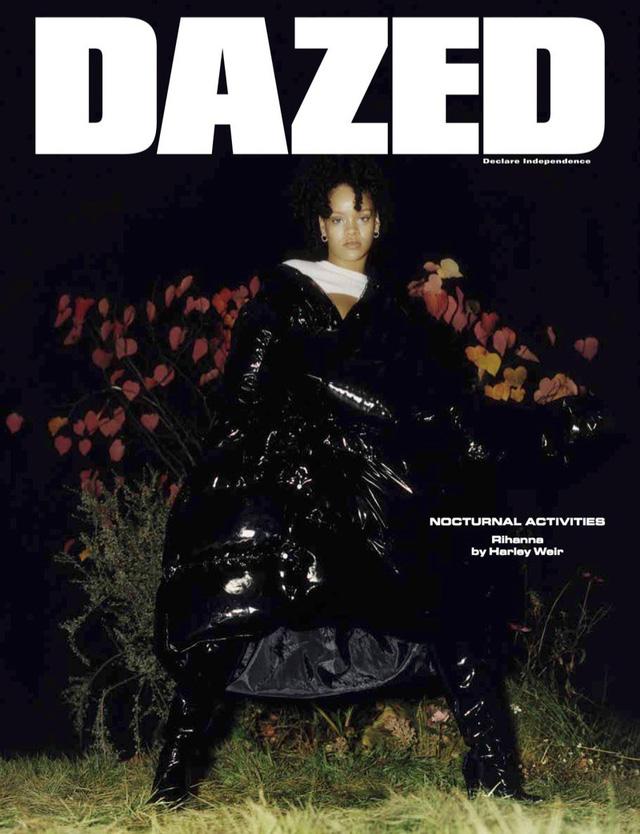 Rihanna u ám trên Dazed - Ảnh 3.