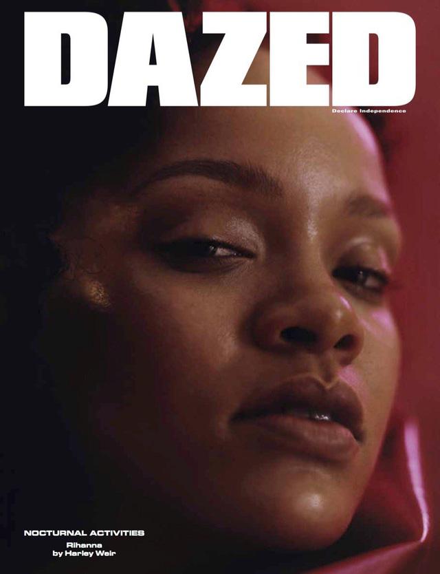 Rihanna u ám trên Dazed - Ảnh 5.