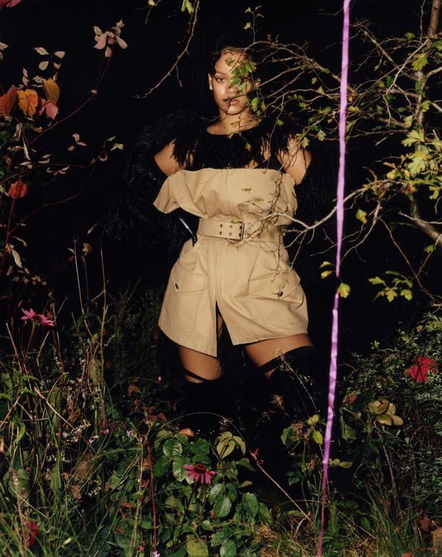 Rihanna u ám trên Dazed - Ảnh 7.