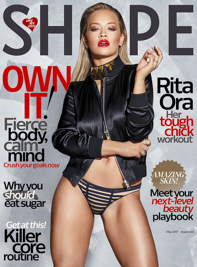 Bí quyết để có thân hình bốc lửa như Rita Ora - Ảnh 1.