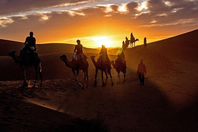 Vẻ đẹp huyền ảo của Morocco qua từng khung hình - Ảnh 1.