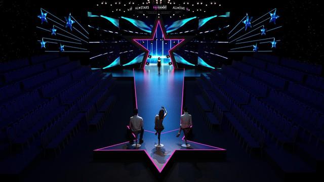 Hé lộ không gian sân khấu ngập sao của Chung kết Vietnams Next Top Model 2017 - All Stars - Ảnh 3.