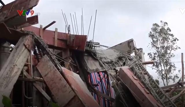 Kiên Giang: Sập nhà đang xây, 5 người bị thương - Ảnh 2.