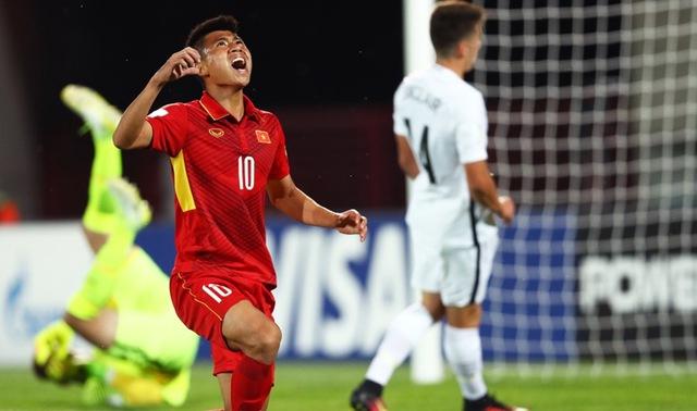 Ảnh: Những khoảnh khắc lịch sử trong trận đấu U20 Việt Nam 0-0 U20 New Zealand - Ảnh 3.
