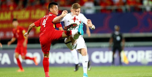 Ảnh: Những khoảnh khắc lịch sử trong trận đấu U20 Việt Nam 0-0 U20 New Zealand - Ảnh 5.