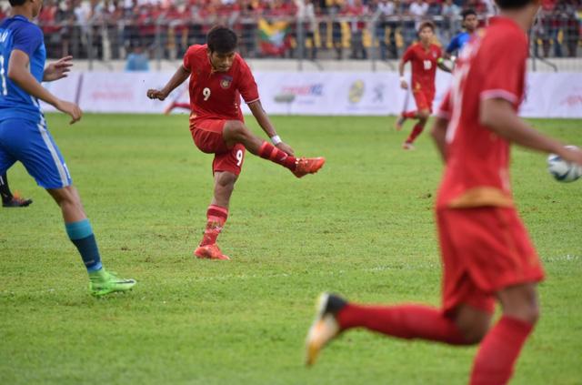 Kết quả, bảng xếp hạng bảng A bóng đá nam SEA Games 29 ngày 14/8: U22 Myanmar chiếm ngôi đầu của U22 Malaysia - Ảnh 1.