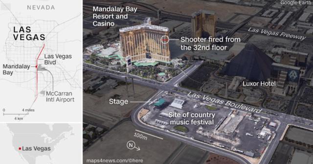 Vụ xả súng ở Las Vegas: Nguyên kho vũ khí được tìm thấy tại nhà hung thủ - Ảnh 1.