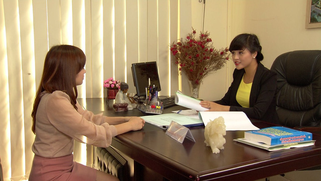 Phim Hoa hồng mua chịu - Tập 17: Phương (Thu Quỳnh) ngày càng làm ăn phát đạt - Ảnh 8.