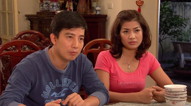 Phim Hoa hồng mua chịu - Tập 2: Gia đình Phương (Thu Quỳnh) lục đục vì khoản tiền đền bù lớn - Ảnh 2.