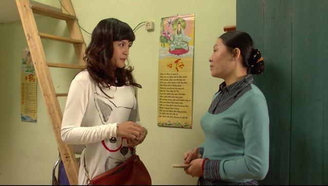 Phim Hoa hồng mua chịu - Tập 3: Không được bố cho tiền, Phương (Thu Quỳnh) quyết bỏ nhà ra đi - Ảnh 7.