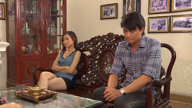 Phim Giao mùa - Tập 33: Vừa cưới Trung (Tiến Lộc), Hòa (Thanh Huyền) đã muốn ngoại tình với Toàn (Công Dũng) - Ảnh 8.