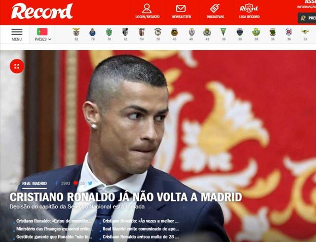 Báo chí châu Âu chấn động với việc Ronaldo đòi rời Real - Ảnh 6.