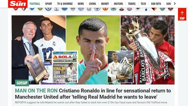 Báo chí châu Âu chấn động với việc Ronaldo đòi rời Real - Ảnh 5.
