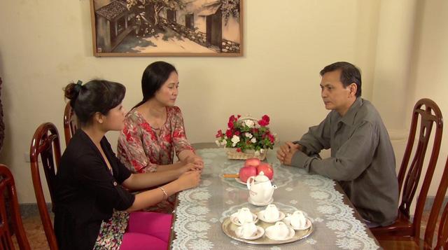 Phim Hoa hồng mua chịu - Tập 3: Không được bố cho tiền, Phương (Thu Quỳnh) quyết bỏ nhà ra đi - Ảnh 5.