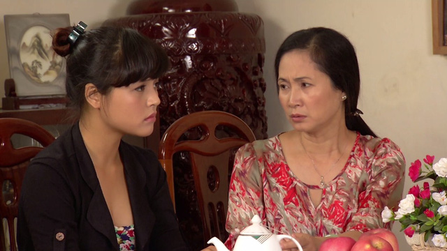 Phim Hoa hồng mua chịu - Tập 3: Không được bố cho tiền, Phương (Thu Quỳnh) quyết bỏ nhà ra đi - Ảnh 4.