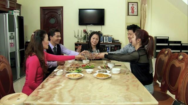 Phim Hoa cỏ may - Tập 11: Thái (Hải Anh) đưa Đan (Hạnh Sino) về ra mắt gia đình - Ảnh 9.