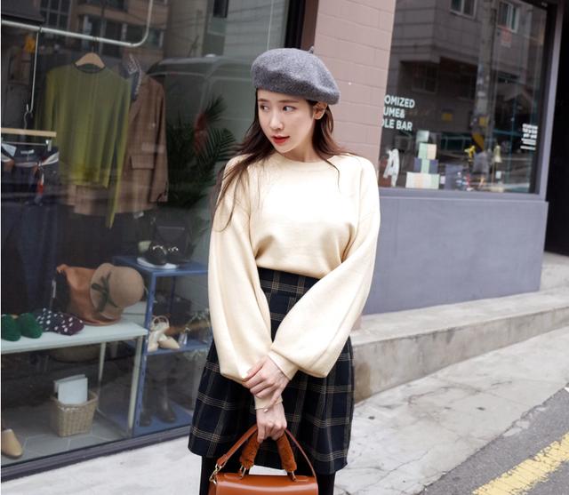 Gợi ý phổi đồ len đẹp chuẩn phong cách Hàn Quốc - Ảnh 6.