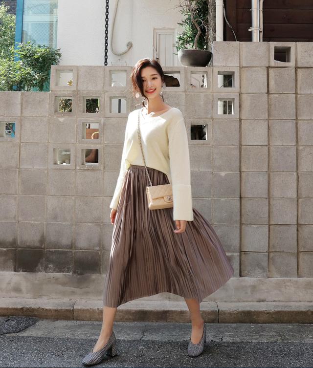 Gợi ý phổi đồ len đẹp chuẩn phong cách Hàn Quốc - Ảnh 5.