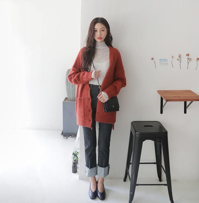Gợi ý phổi đồ len đẹp chuẩn phong cách Hàn Quốc - Ảnh 4.