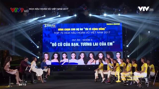 Tôi là Hoa hậu Hoàn vũ Việt Nam 2017: Đội Hoàng Thùy bất ngờ bị các người đẹp này vượt mặt - Ảnh 1.
