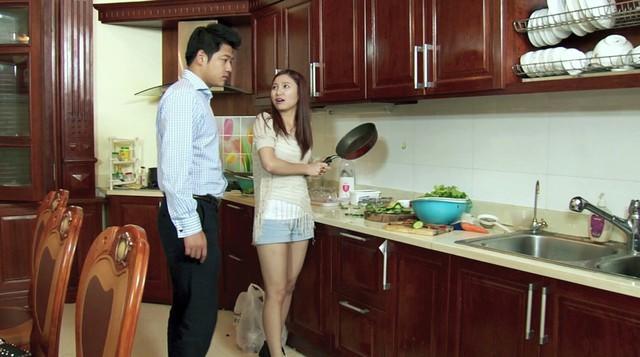 Phim Hoa cỏ may - Tập 14: Đan (Hạnh Sino) khiến mẹ Thái (Hải Anh) hết hồn vì tài nấu nướng - Ảnh 3.
