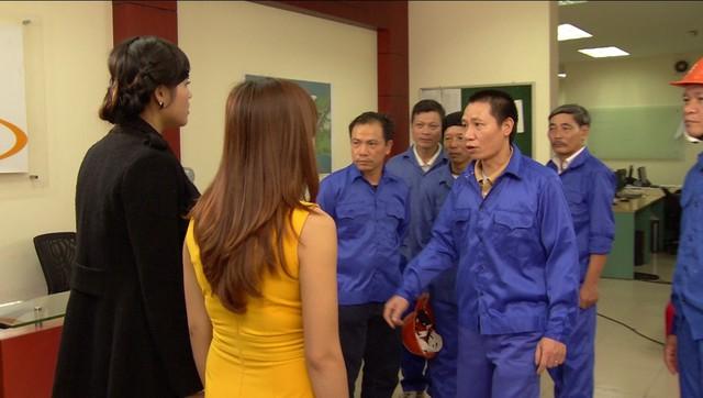 Phim Hoa hồng mua chịu - Tập 24: Phương (Thu Quỳnh) suy sụp khi công ty mất hết tài sản - Ảnh 7.