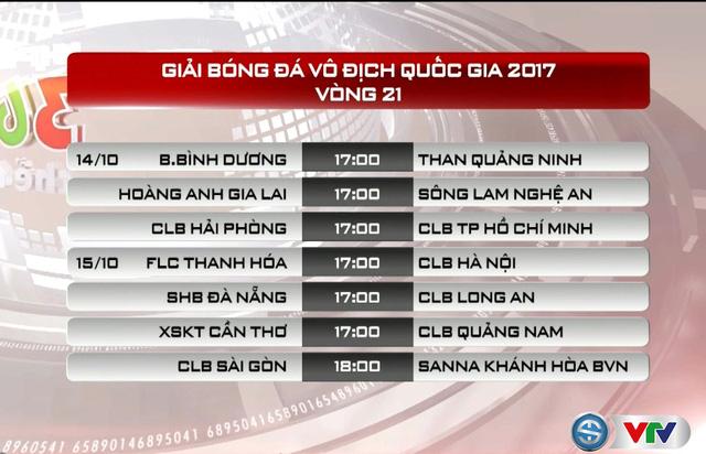 Vòng 21 giải VĐQG V.League 2017 trở lại: Tâm điểm FLC Thanh Hoá tiếp đón CLB Hà Nội - Ảnh 2.