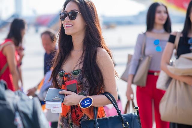 Ngắm nhan sắc của các thí sinh Hoa hậu Hữu nghị ASEAN tại Phú Yên - Ảnh 4.