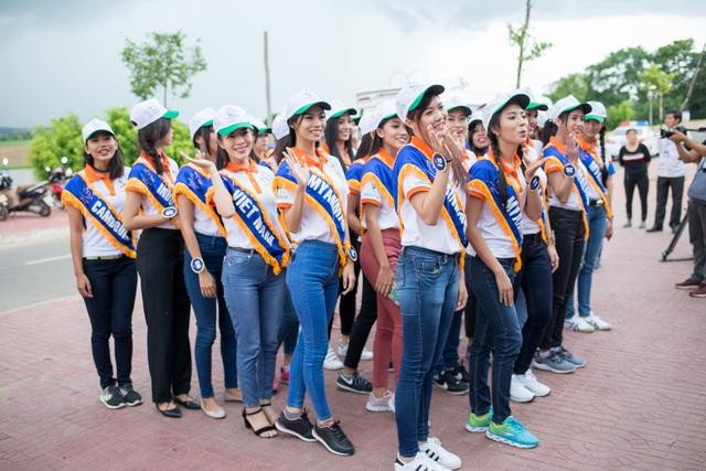 Hoa hậu Hữu nghị ASEAN: Dàn người đẹp hào hứng với trải nghiệm giao lưu văn hóa - Ảnh 1.