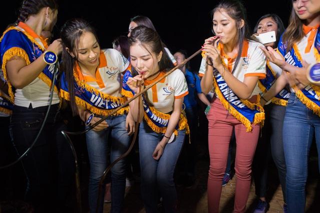 Hoa hậu Hữu nghị ASEAN: Dàn người đẹp hào hứng với trải nghiệm giao lưu văn hóa - Ảnh 8.