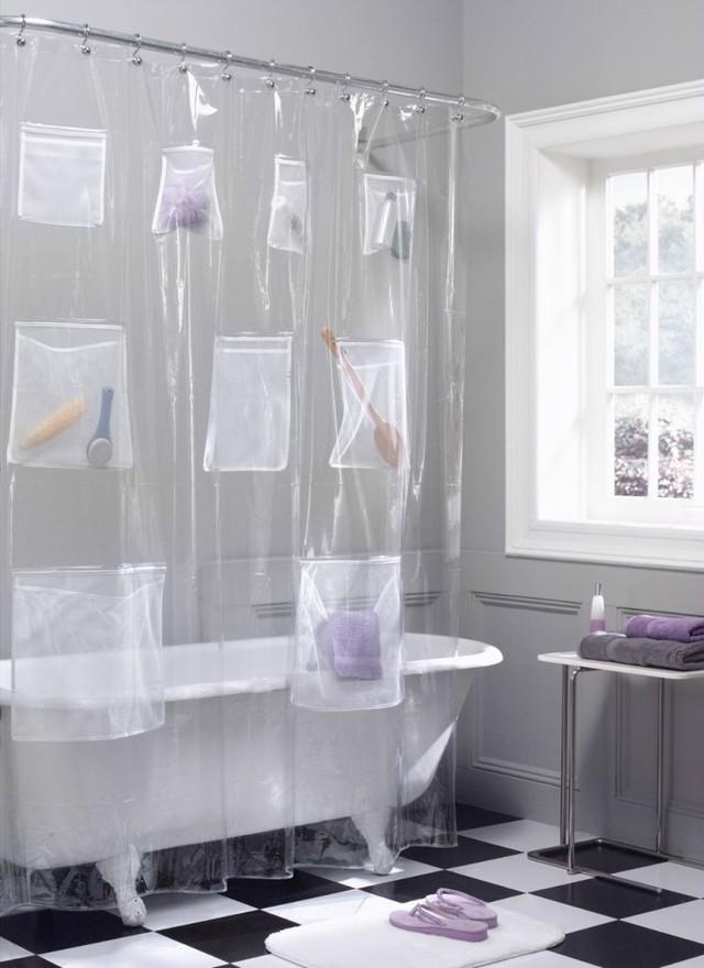 Những vật dụng giúp tiết kiệm không gian trong phòng tắm nhỏ - Ảnh 1.