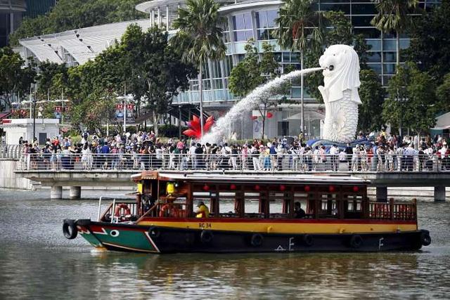 Du thuyền trên sông - Điểm nhấn du lịch Singapore - Ảnh 1.