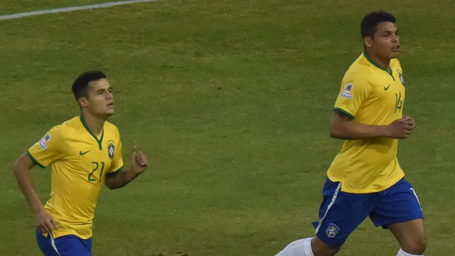 Thiago Silva thuyết phục Philippe Coutinho đến PSG - Ảnh 1.