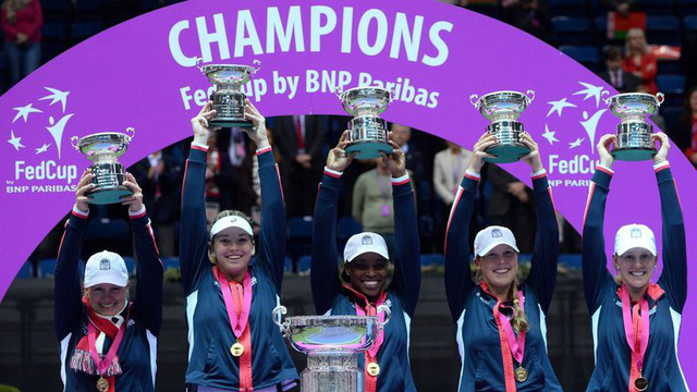ĐT Mỹ giành chức vô địch Fed Cup lần thứ 18 - Ảnh 1.