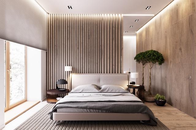 Những gợi ý cho phòng ngủ vừa sang trọng vừa hiện đại với nội thất bằng gỗ - Ảnh 6.