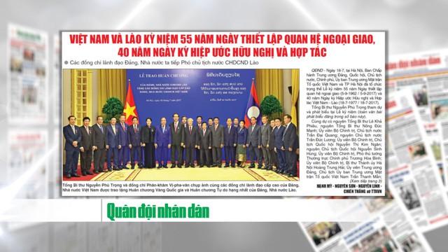 Chặng đường lịch sử trong quan hệ Việt – Lào - Ảnh 1.