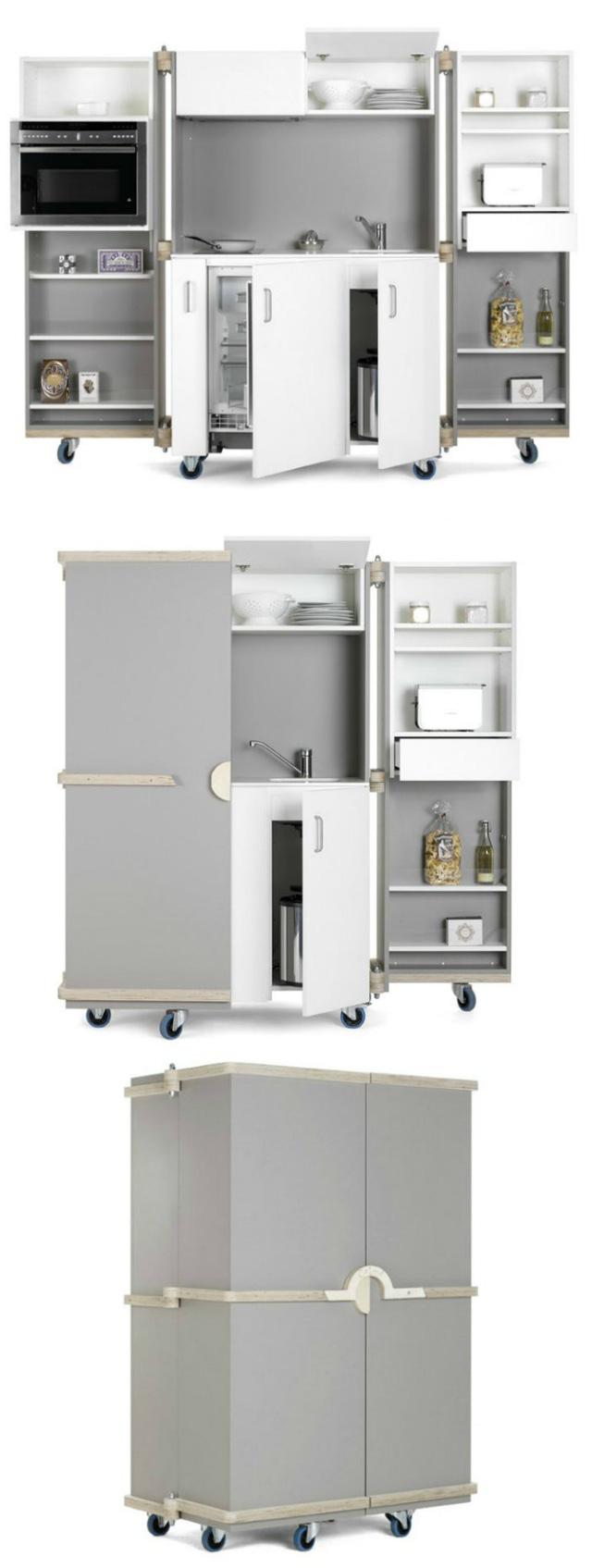 Những gian bếp đóng hộp hiện đại bà nội trợ nào cũng ước ao - Ảnh 1.